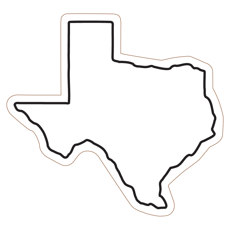 Texas Outline Clip Art   Cliparts Co