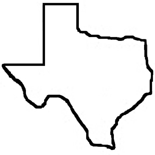 Texas Outline Clipart   Clipart Panda   Free Clipart Images