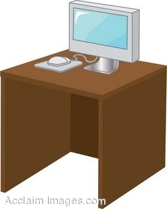 Desk Clipart 540 X 595 33 1kb Office Desk Clip    951 X 622 4 6kb