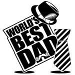 Father S Day Icon Greeting Card Design Eps 10 Vector Grouped For Easy