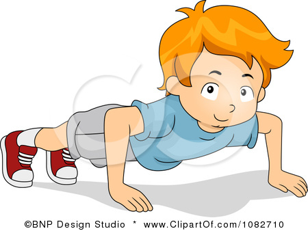 Kids Push Ups Clip Art Kids Doing Push Ups Car Pictures