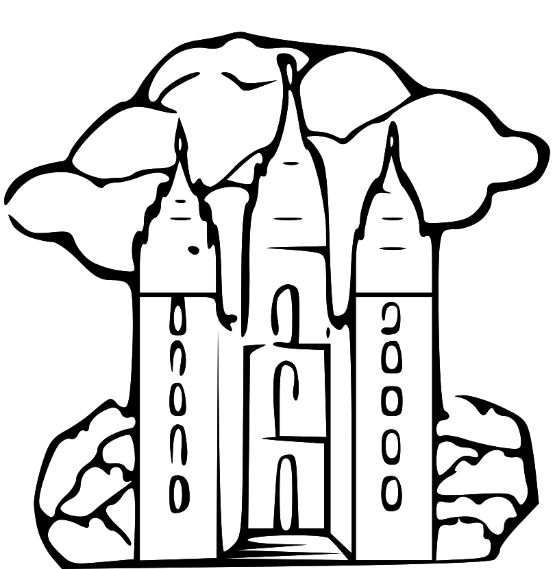 Salt Lake Temple Clipart - Clipart Kid