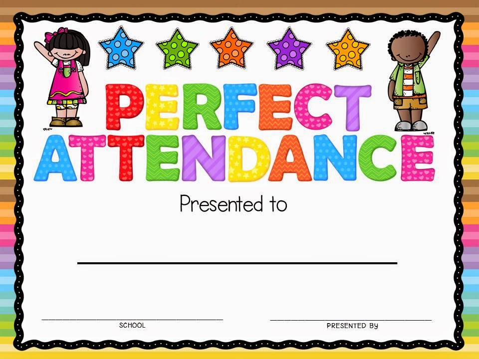 Perfect Attendance Clip Art  galleryhip com  The Hippest