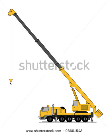 Mobile Crane Stock Photos Illustrations And Vector Art