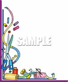 Sewing Supplies Royalty Free Clipart More Art Clipart Sewing Clipart