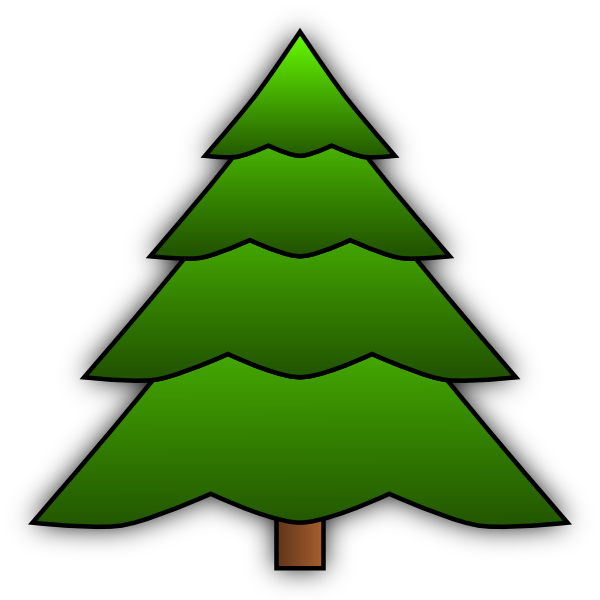 Simple Tree Root Clipart