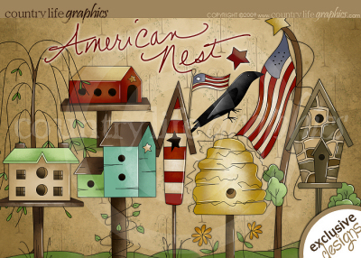 American Nest Clipart At Country Life Graphics   American Nest Clipart