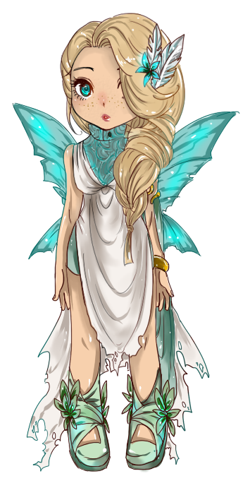 Chibi Fairy By Yunz302 On Devian