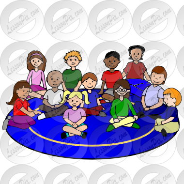 Circle Picture For Classroom   Therapy Use   Great Circle Clipart