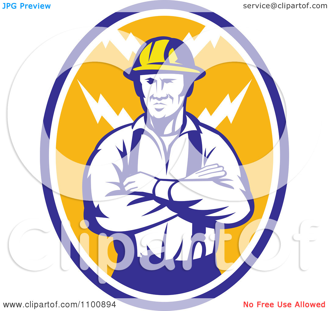 Electric Company Logo Clipart Electrician Or Clipart   Free Clipart