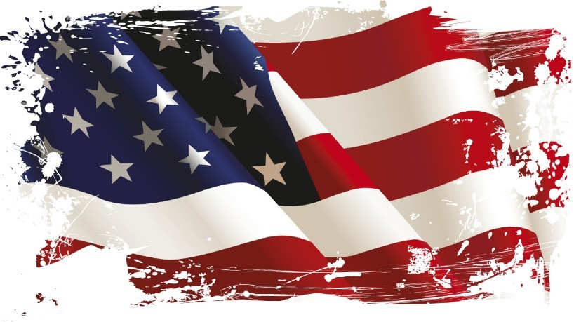 Free Vintage American Flag Design Vector 04   Titanui