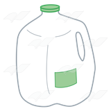 Gallon Of Milk Clip Art Pictures to Pin on Pinterest ...