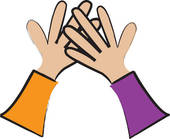 Sports High Five Clipart Problem Of The Week   Solutions Archive