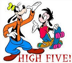 Tags High Five People Did You Know The High Five Is When Two People