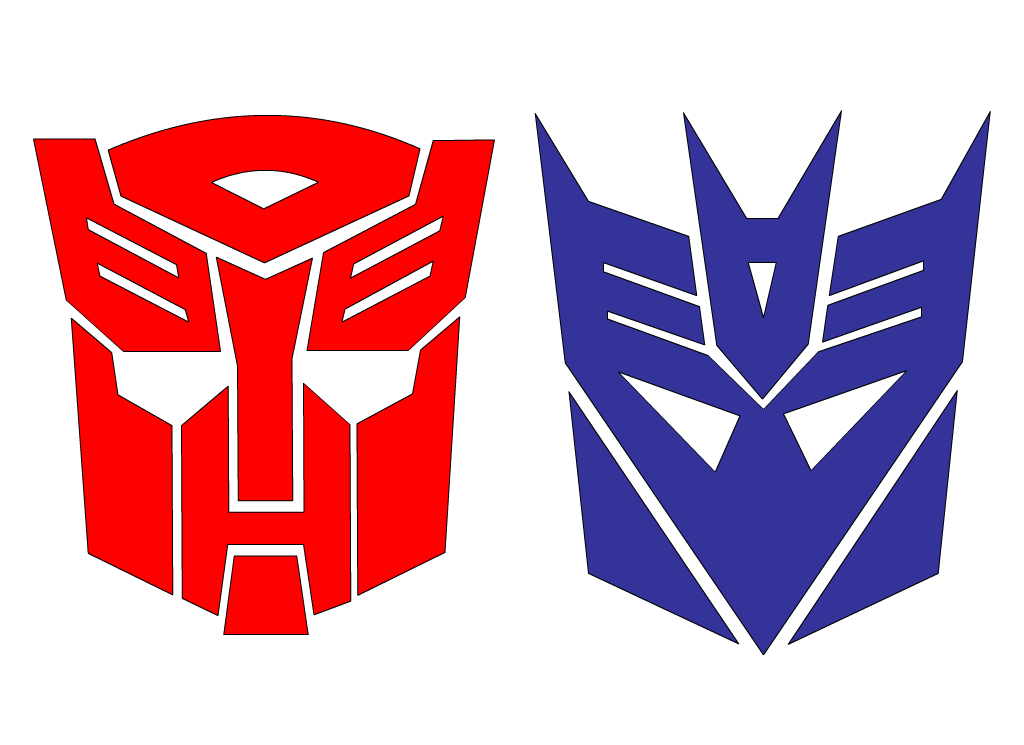 Transformers Logo Clipart - Clipart Kid