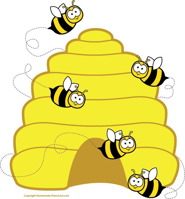 Clipart Bee Clipart Beehive Bees   Carmen S Class   Pinterest   Bees