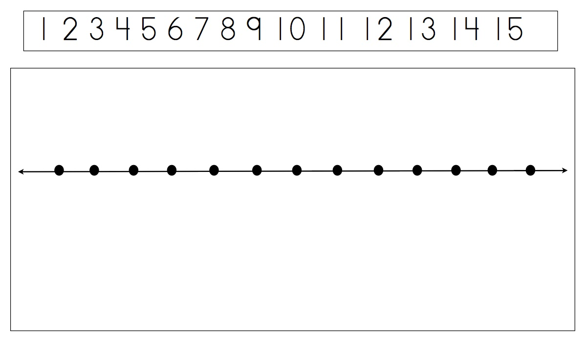 Subtraction Number Line Worksheet free printable math addition – Subtracting on a Number Line Worksheets