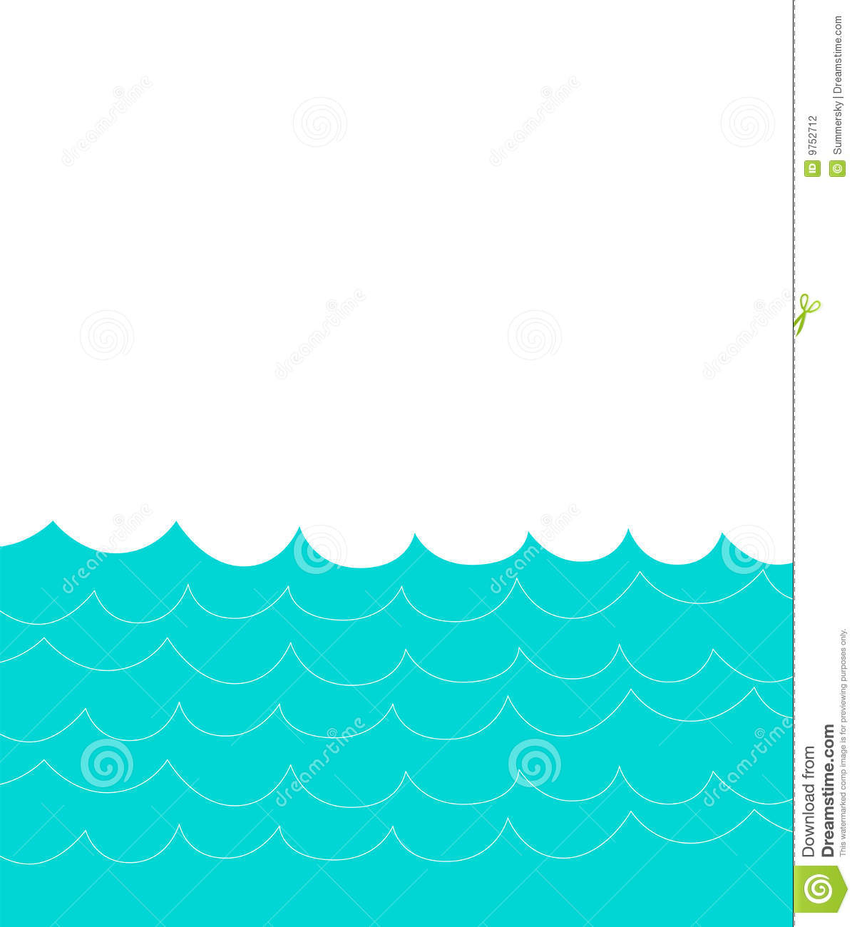 Simple Water Waves Clip Art Images   Pictures   Becuo