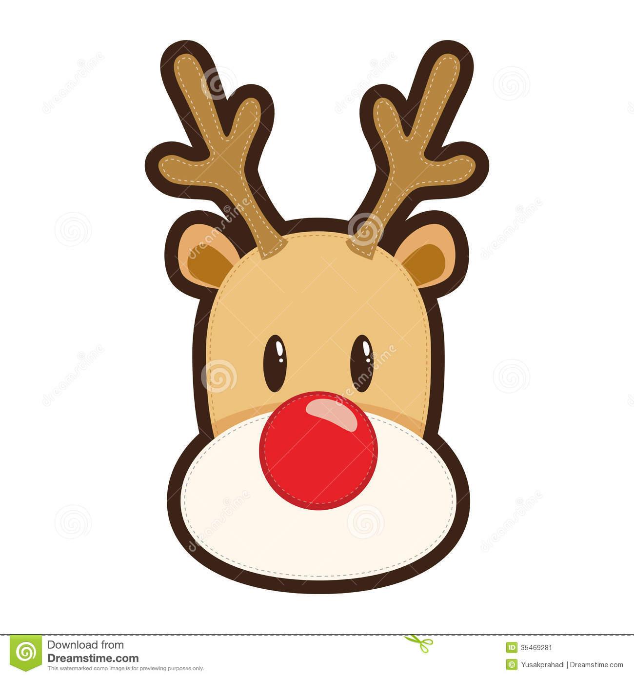 Rudolph Reindeer Clipart - Clipart Kid