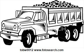 Clipart   Dump Truck  Fotosearch   Search Clipart Illustration