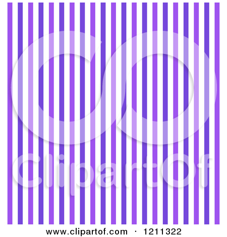 Clipart Of A Background Of Purple Stripes 2   Royalty Free