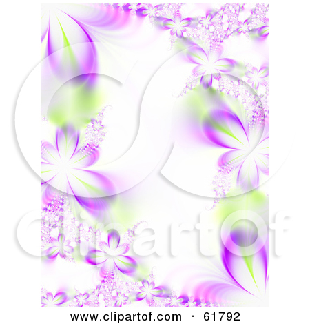 Free  Rf  Clipart Illustration Of A Vertical Background Of Purple