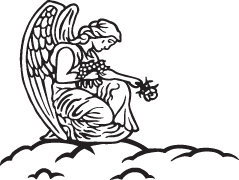 Headstone Clip Art Examples Of Angels   Memorial Clip Art
