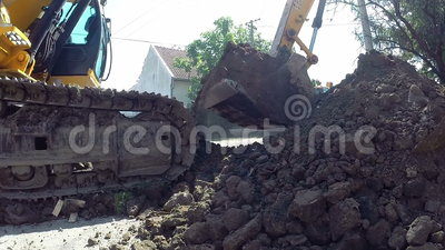 Heavy Excavation Equipment Stock Footage   Video  51927440