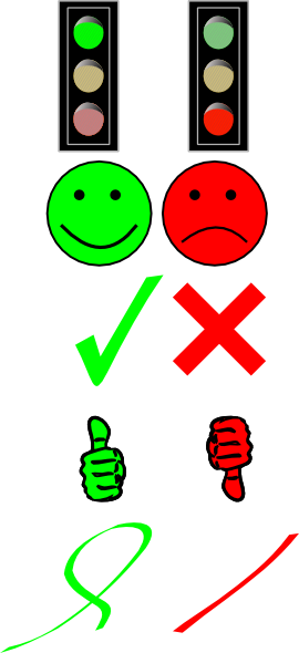 Right Or Wrong Image Collection Clip Art At Clker Com   Vector Clip