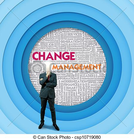 Word Cloud For Business Concept Change Management   Csp10719080