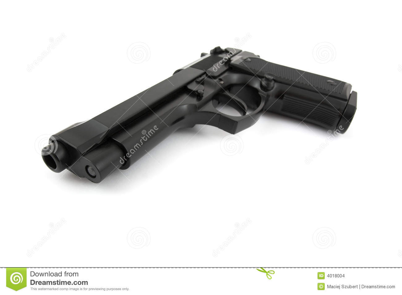 9mm Handgun Stock Images   Image  4018004