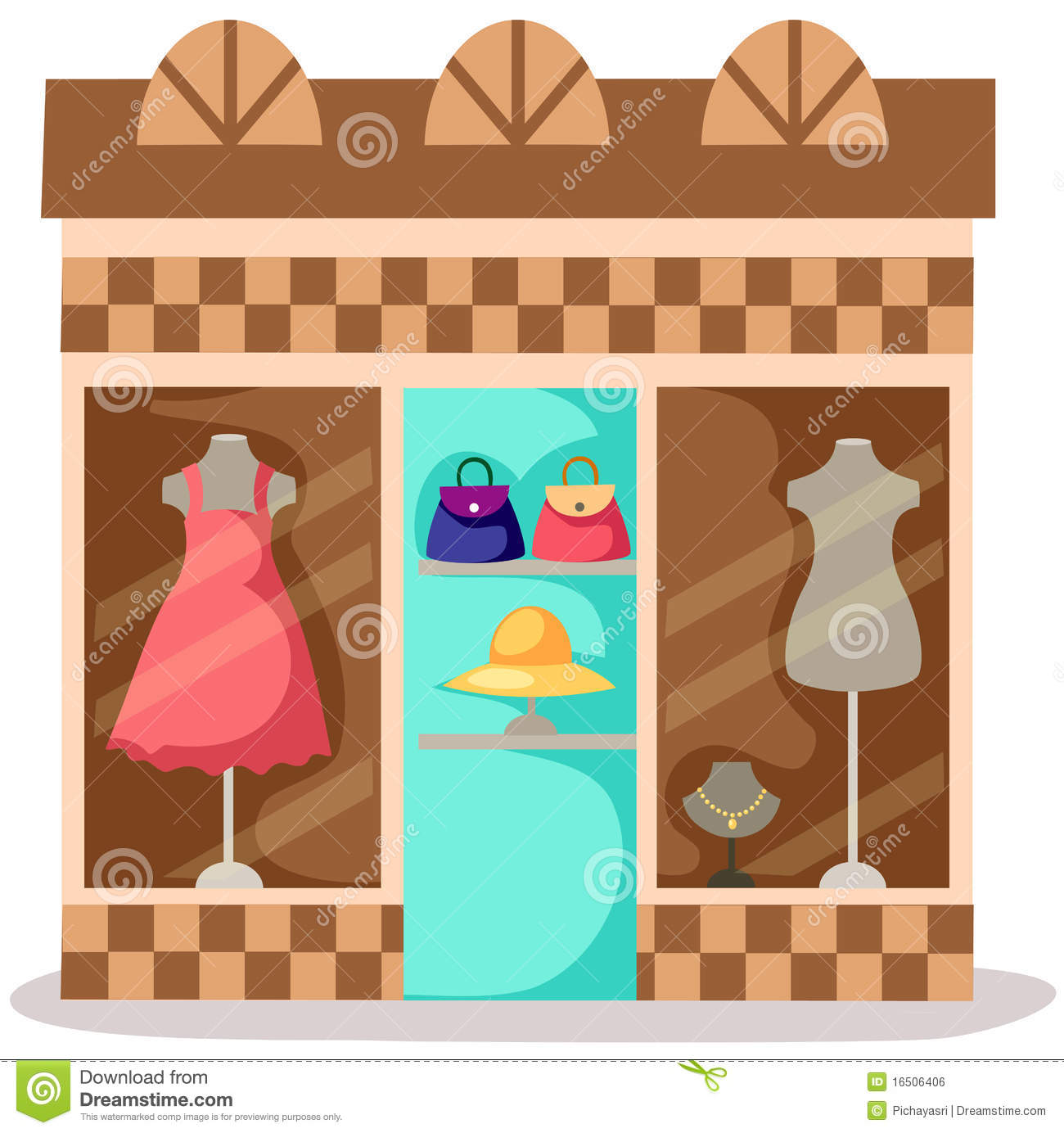 free clipart clothes shopping - photo #31