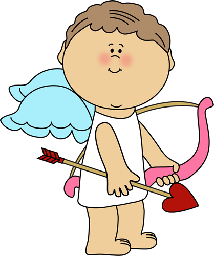 Valentine Cupid Clipart - Clipart Kid