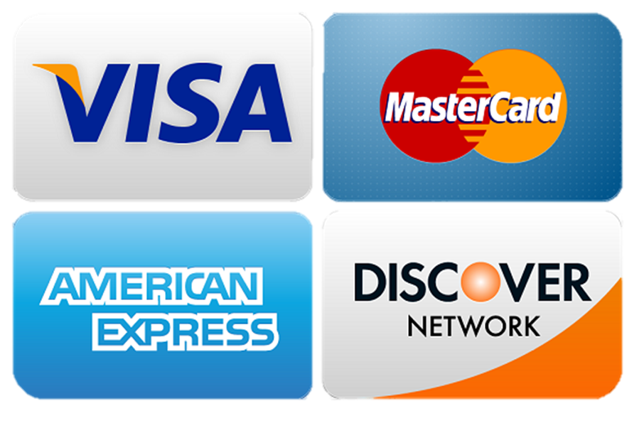 ... Card Payments All Major Cards Accepted Visa Mastercard - Clipart Kid