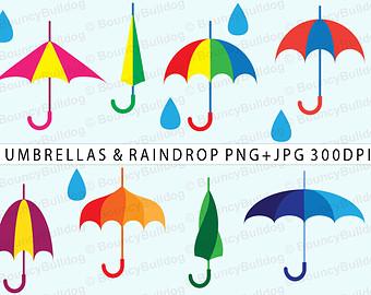 rain showers clip art borders � cliparts