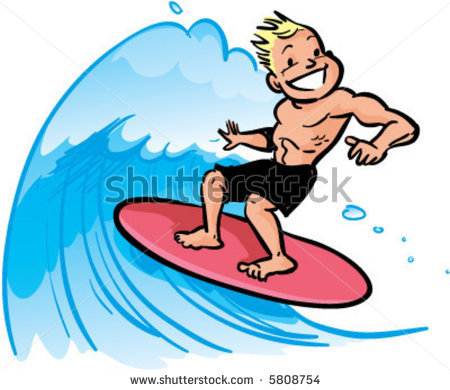 Surfer Vintage Watermark Clipart   Cliparthut   Free Clipart