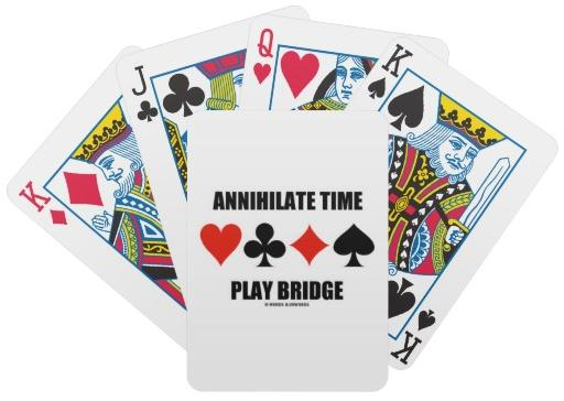 Playing Bridge Clip Art