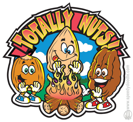 Image result for nuts cartoon