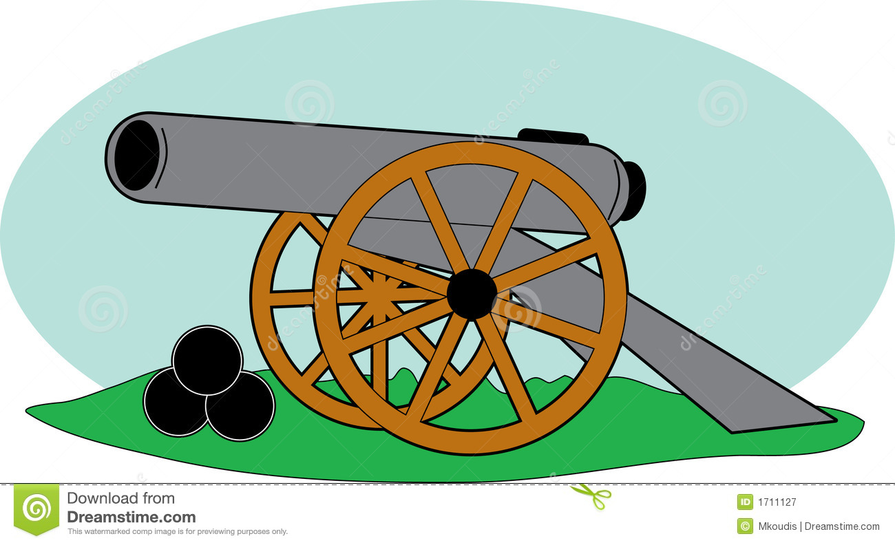 Civil War Cannon Clipart Civil War Cannons Clipart