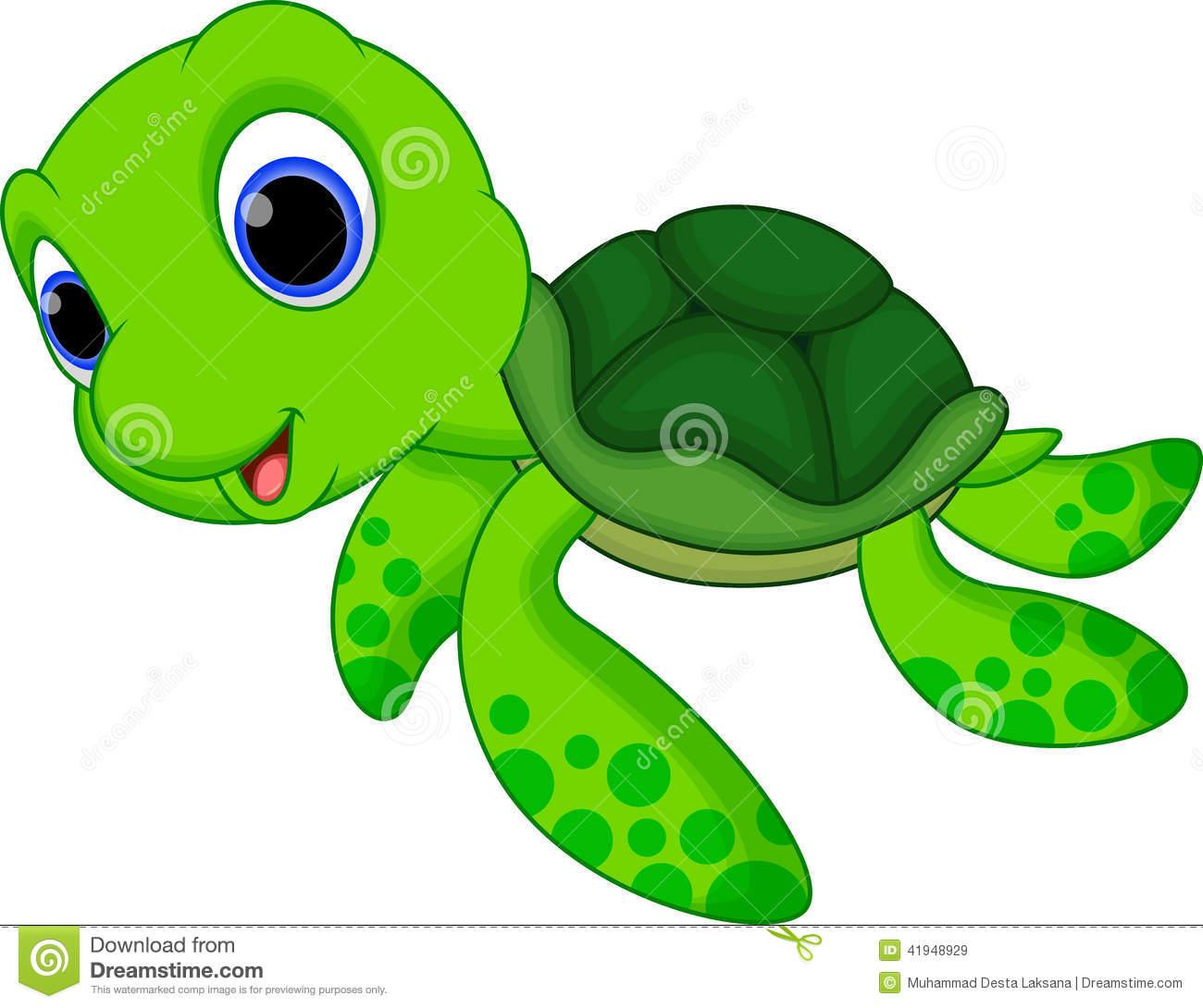 Cute animated sea turtles - photo#1