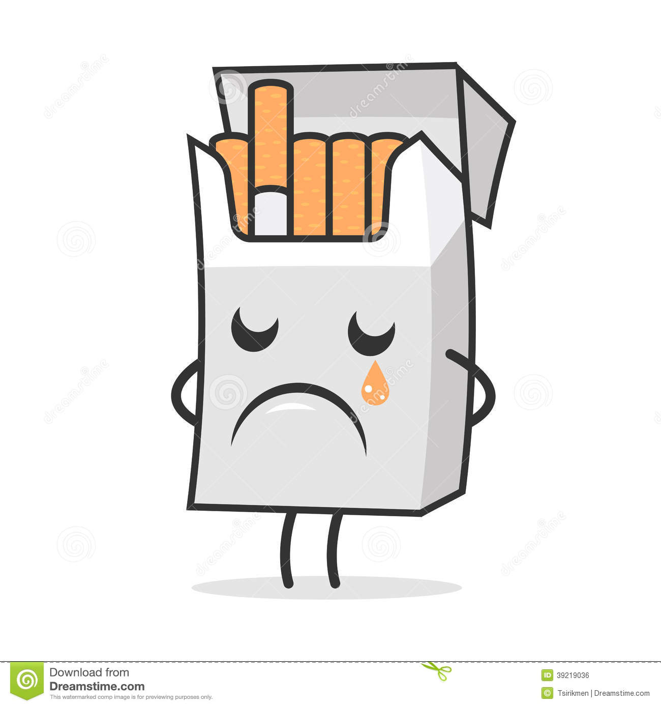 сигарета и бутылка рисунок