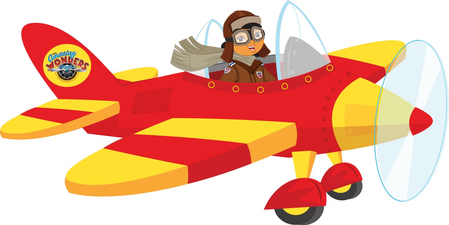 Pilot Clipart Girl Pilot Plane Jpg