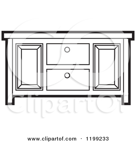 Royalty Free  Rf  Cabinet Clipart   Illustrations  2