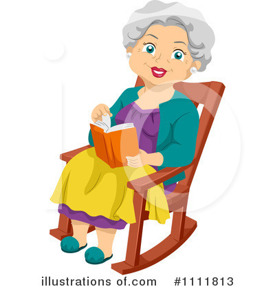 Royalty Free  Rf  Granny Clipart Illustration By Ron Leishman   Stock