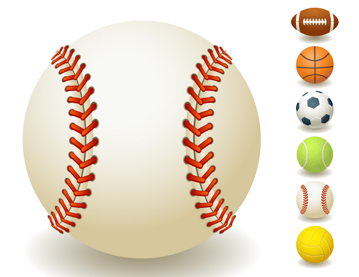Sport ball border clipart clipart suggest for Sports clipart