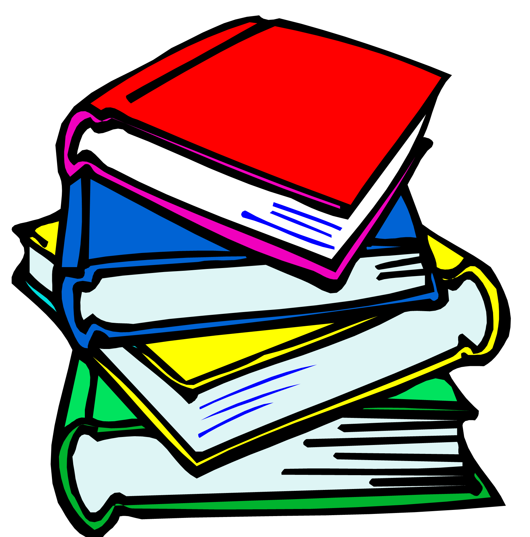 Image result for school books clipart