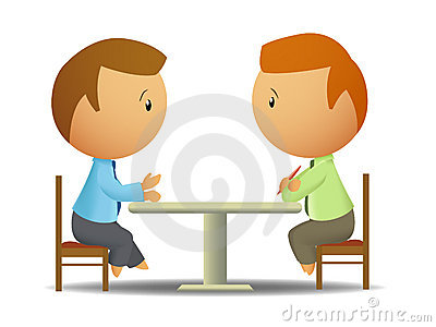 Teenagers Sitting At Table Clipart   Cliparthut   Free Clipart