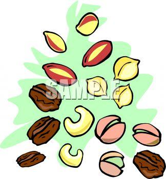 Mixed Nuts Cartoon Clipart - Clipart Kid