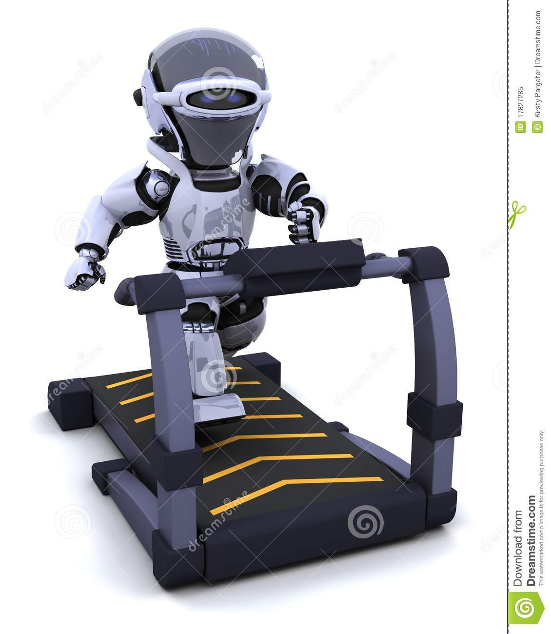 Treadmill Royalty Free Stock Photo   Image  17827285