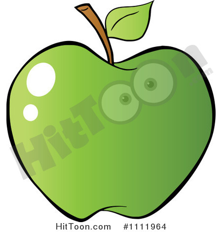 Apple Clipart  1111964  Green Apple 4 By Hit Toon